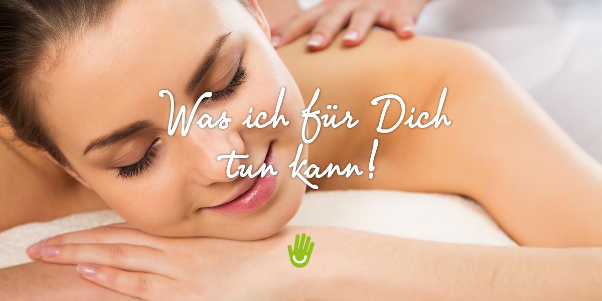 Massage Anita - Was ich für Dich tun kann